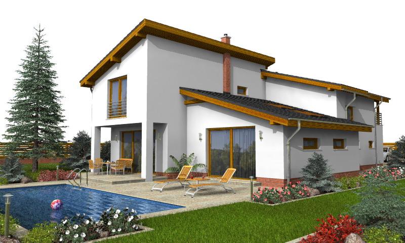 Izrada montažnih kuća, projekti za kuće po Vašoj želji, gradnja ...